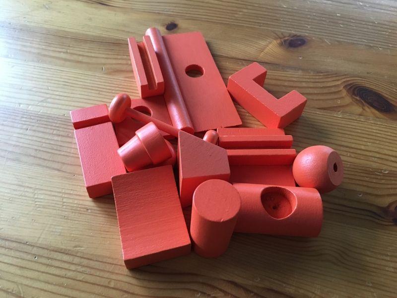 Les blocs rouges