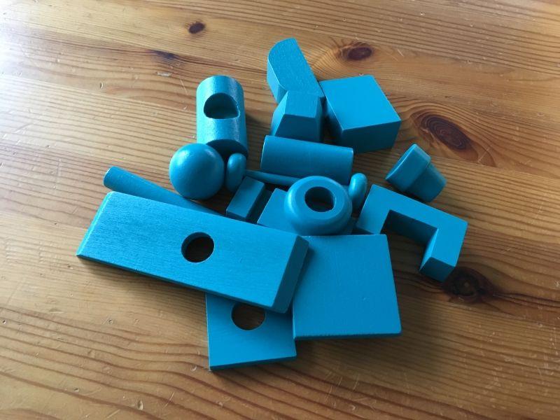 Les blocs bleus