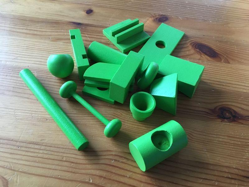 Les blocs verts