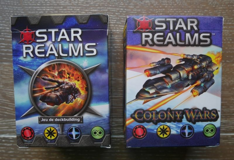Star Realms et Colony Wars.