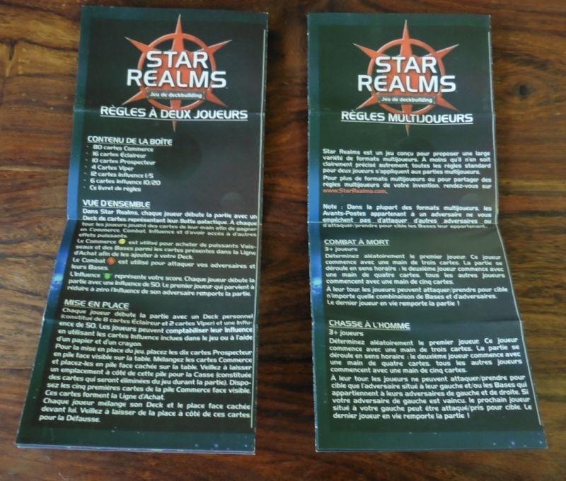 2 livrets (feuilles) de règles pour 2 joueurs et plus !!!