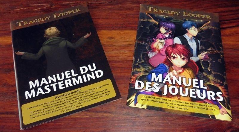 2 livrets : un simple pour les joueurs, un très détaillé pour le mastermind.