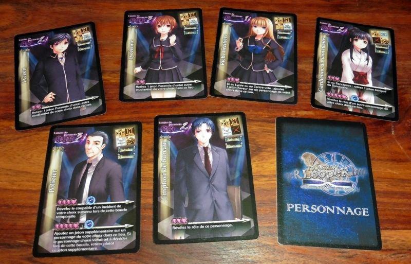 Quelques-uns des nombreux personnages du jeu.
