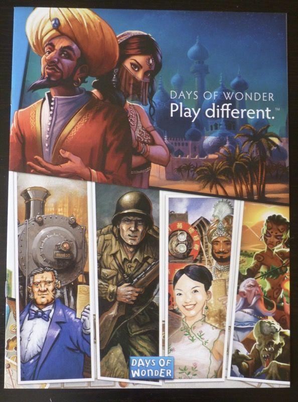 Un petit livret publicitaire de quelques-uns des jeux de l'éditeur (Y'a du hit !)