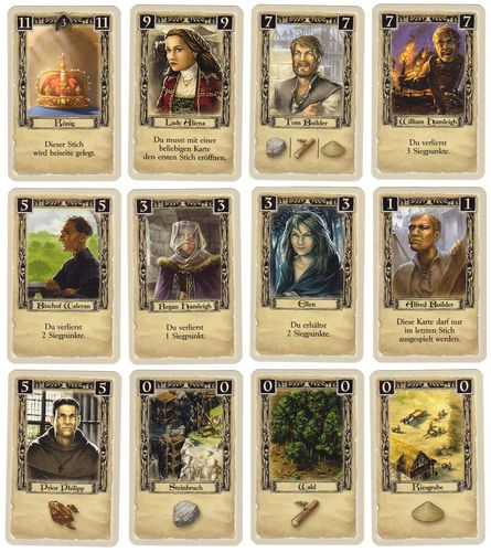 Die Säulen der Erde - das Kartenspiel