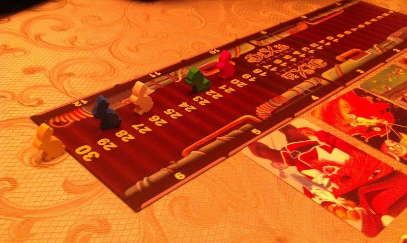 Table des scores