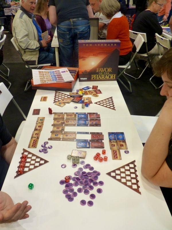 Favor of the Pharaoh toujours chez Bezier Games