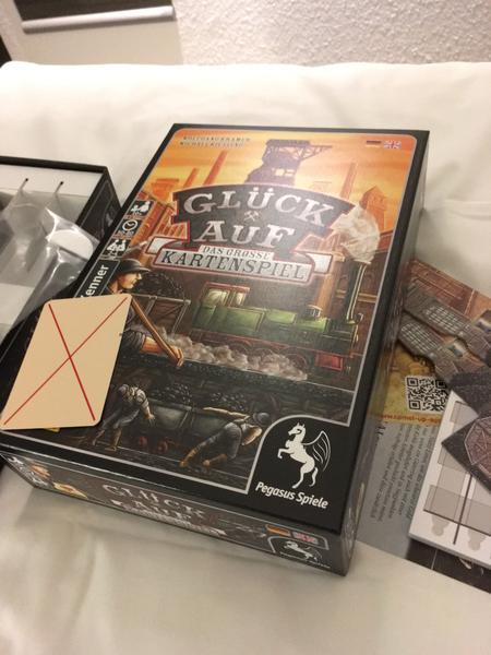 """L'adaptation """"jeu de cartes"""" de Gueules Noires"""