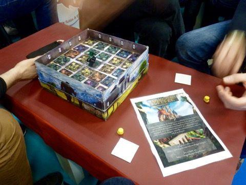 La version prototype quasi définitif du jeu de Etienne Daniault.