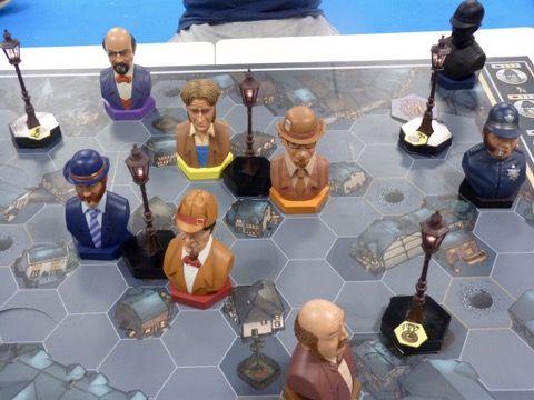 Pour les 10 ans de Mr Jack, Hurrican a décidé de vieillir tous les personnages du jeu.