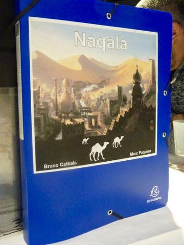 Naqala le futur jeu de Bruno Cathala et Marc Paquien à paraître chez Days Of Wonder