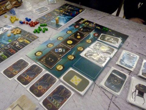 Otys une première coédition Pearl Games et Libellud essayé aux Asmonights... un jeu plutôt orienté gamer !