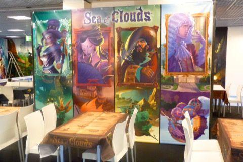 Chez Iello omis le décor de Sea Of Clouds le jeu de Théo Rivière.