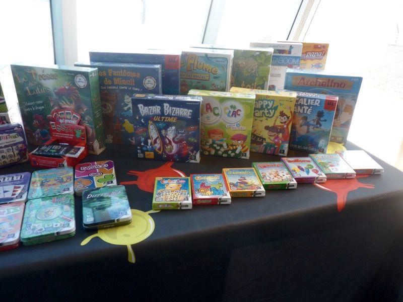 La gamme des jeux orientés enfants.