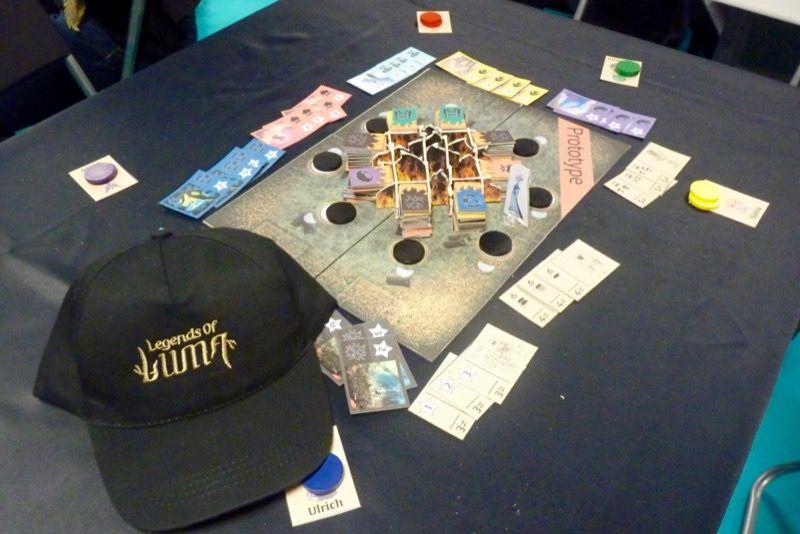 Le 2ème jeu de l'univers des légendes de Luma... Nomades de Gary Kim.