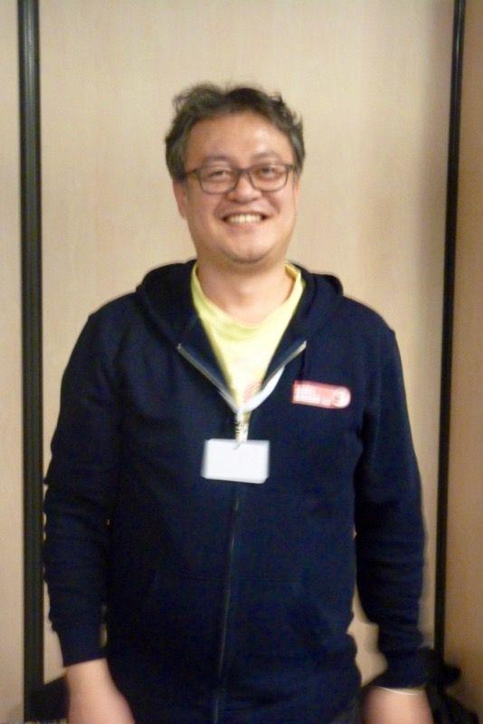 Et en présence de Dave Choi, l'auteur du jeu. Sourires et humilité...