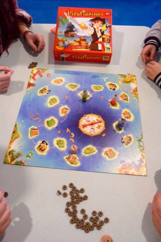Piratissimo, un autre Pegasus Spiel de 2005 qu'on retrouve désormais chez Matagot Kids.