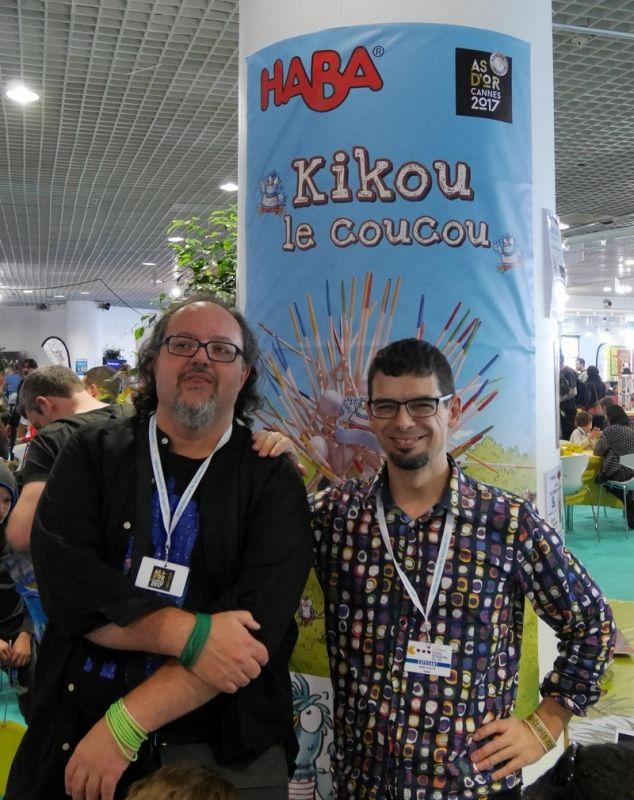 Les auteurs de Kikou.