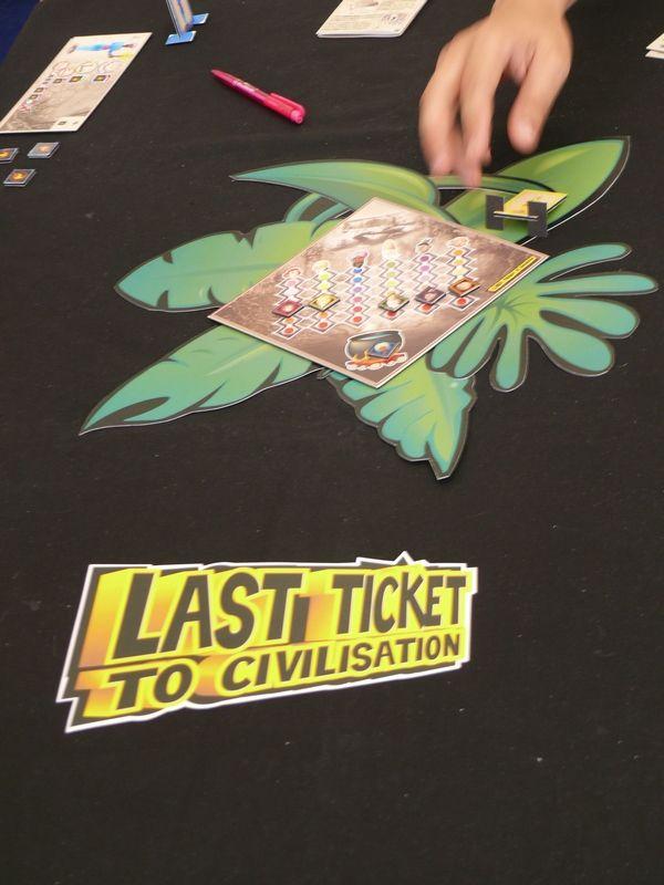 Last Ticket to civilisation