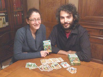 Johanna Poncet et Florent Toscano