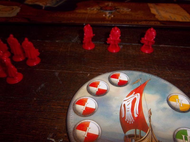 Quelque-uns de mes vikings prêts à en découdre...