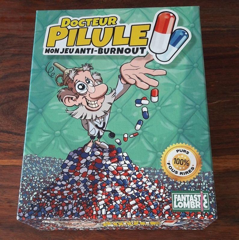 La boite de la Team Pilule est bien sortie avec pour nom d'éditeur Fantastic Lombric !