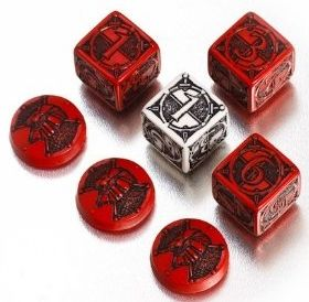 Kingsburg - dice and tokens