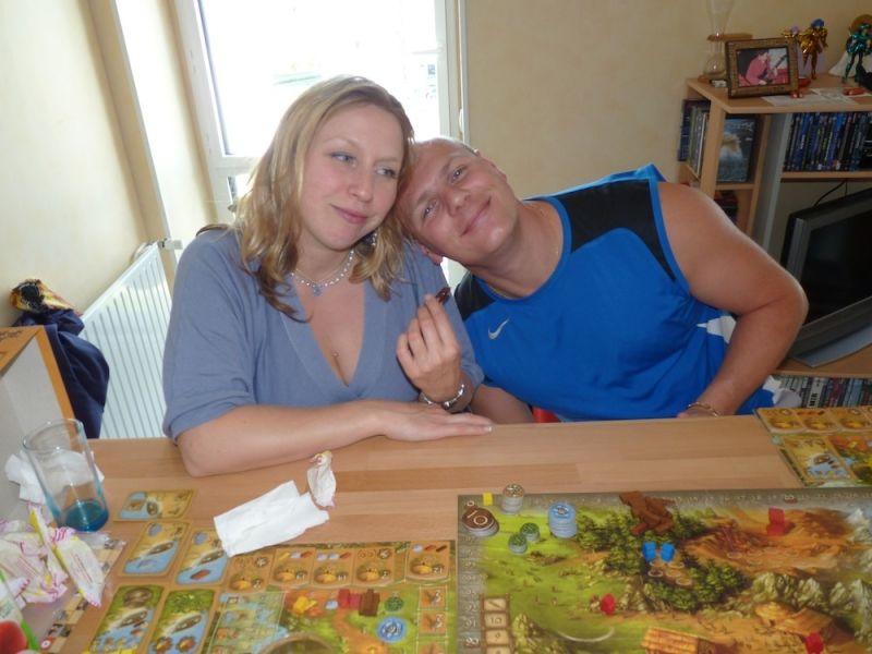 Noémie et Cédric, ne sont-ils pas mignons ?