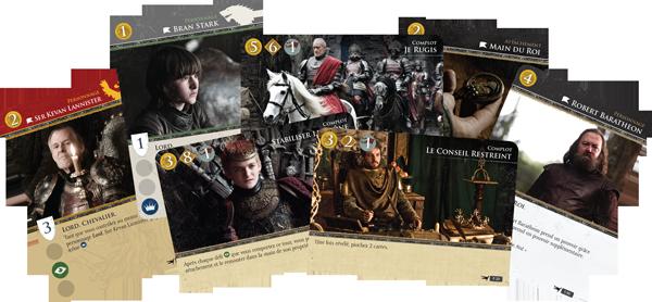 Le trône de fer : le jeu de cartes