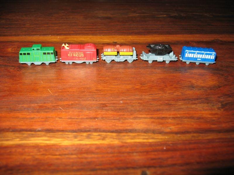 Il sont vraiment jolis ces wagons !