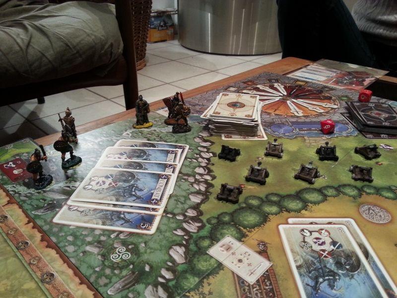 Dernière bataille contre les Pictes avant la victoire. Et a été démasqué, on a pas mal d'engins de siege mais ca passe..