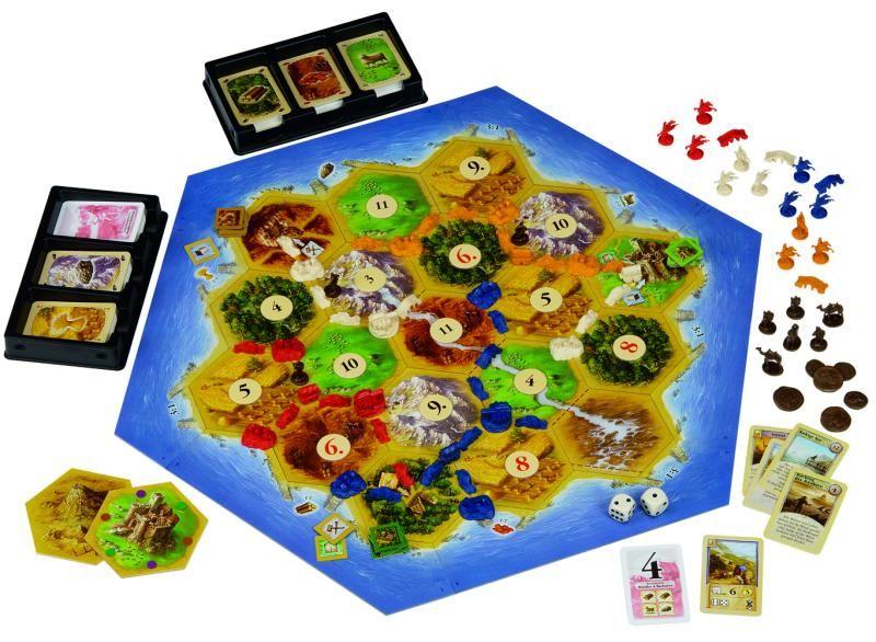 Catane : Barbares et Marchands  Extensions (1)  Un jeu de Klaus Teuber  Jeu