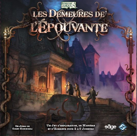 Les demeures de l'épouvante
