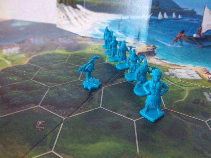 Le clan bleu : ils ont l'air décidé non ?
