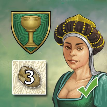 Une des faveurs de Guilde dans le jeu. Elle offre 3 tuiles pain.