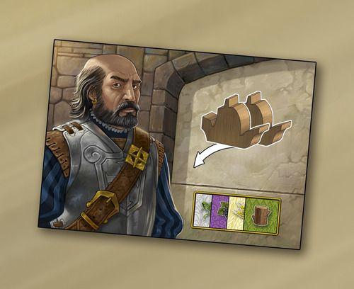 """Un des quatre personnages : """"The Commander"""""""