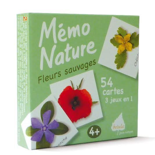 Mémo Nature - Fleurs Sauvages
