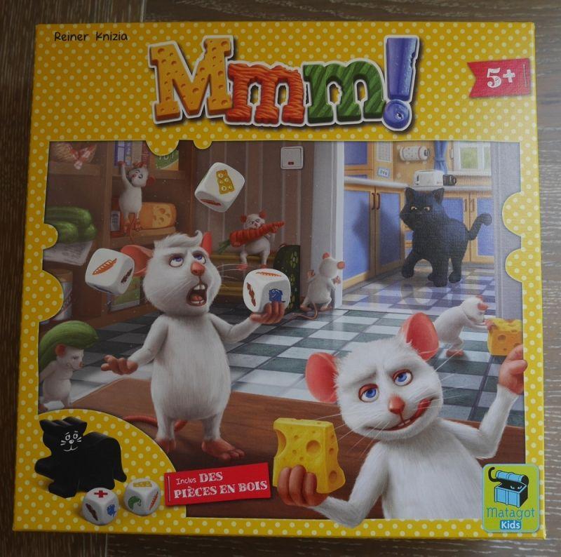 MMM! en edition francaise chez Matagot kids