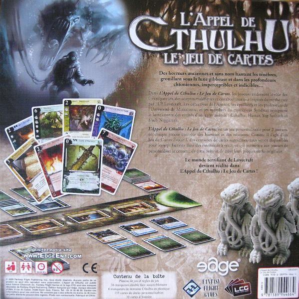 L'Appel de Cthulhu - Le jeu de cartes