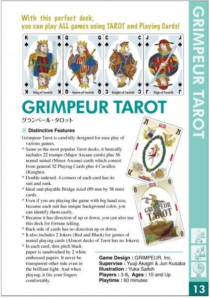 Grimpeur Tarot - The Fool