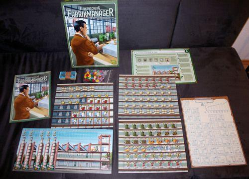 Funkenschlag - Fabrikmanager
