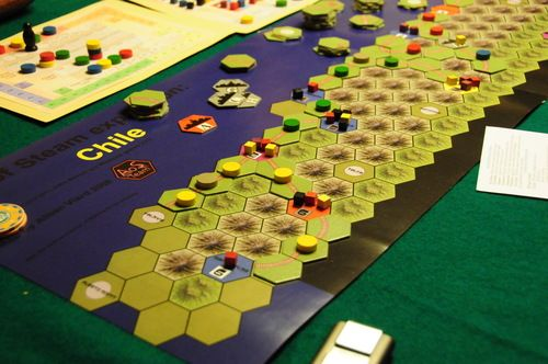 Age of Steam Expansion - Chili / Egypte