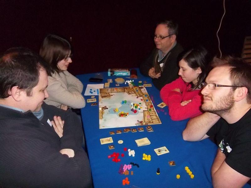 D'autres gamers incrustés dans la grande salle : Monsieur Lilajax et mademoiselle Lila, monsieur Nico et monsieur Lubjisen...