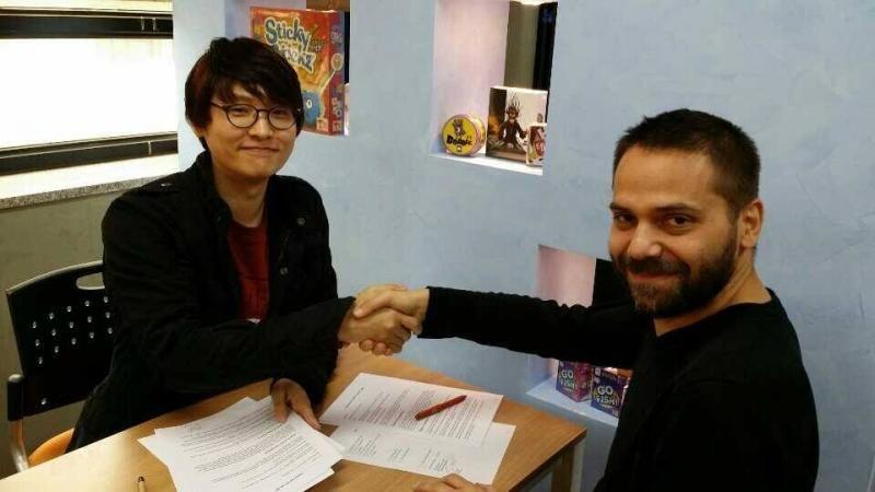 Gary Kim, auteur de Koryo & Manu