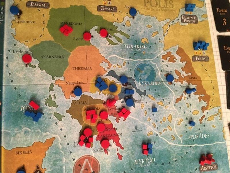 la Grèce, la paix retrouvée
