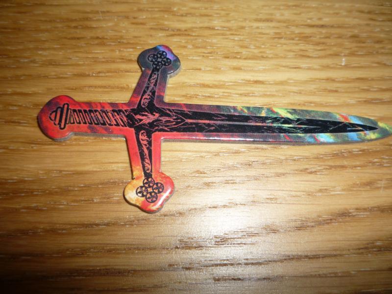 L'épée de plus prêt.
