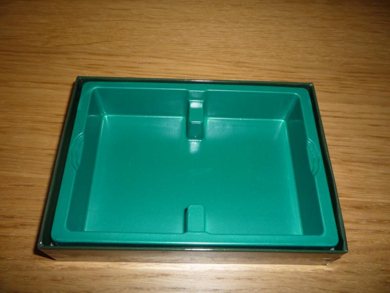 L'intérieur de la boite