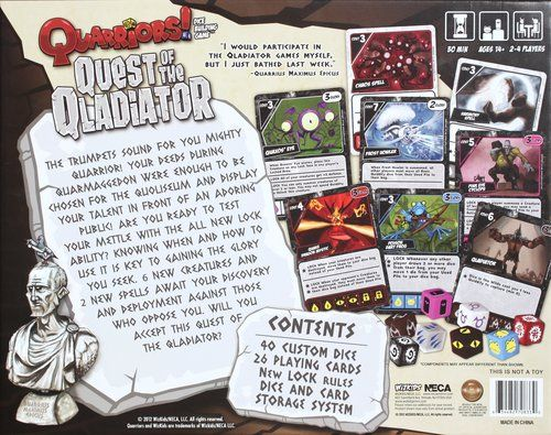 Quarriors! Quest of Qladiator