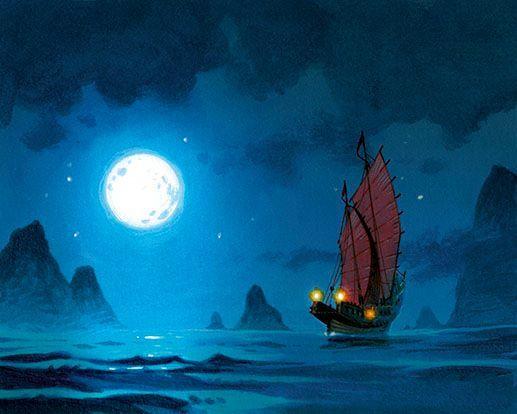 Une image (par le talentueux Dutrait) échappée de Madame Ching, son prochain jeu
