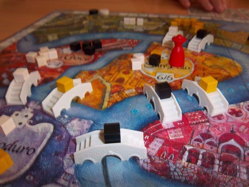 San Marco, un matériel simple et agréable...Le Doge est pour le moment à San Polo.